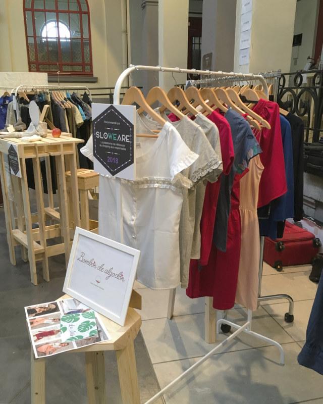 Salon mode éthique Fashion Green Days à Roubaix marque de vêtements coton bio Bombón de algodón