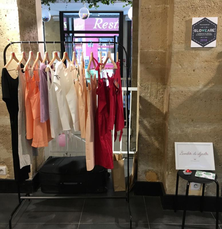 Pop-up créateurs spécial été Shopping for Happiness marque vêtements Bombón de algodón
